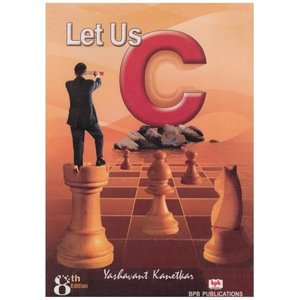 Let Us C by Yashavant Kanetkar